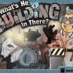 What's He Building cover