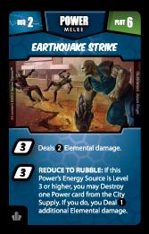Earthquake Strike