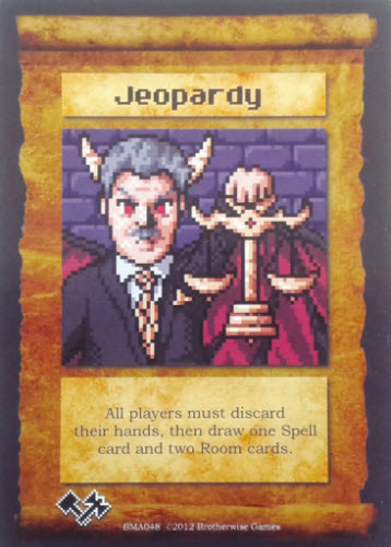 Or a demonic Alex Trebek.