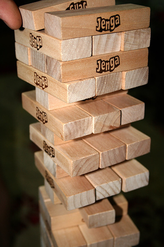 If the Tower falls in Jenga, you lose the game. In Dread, you lose your life.