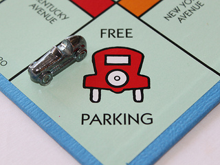 Anyone trying to park in a city will attest that Free Parking is hardly 'nothing'.