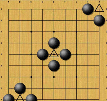 """""""The strong player plays straight, the weak plays diagonal."""""""