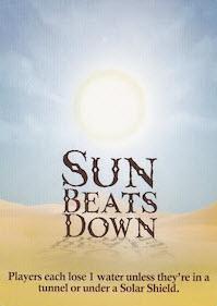 forbidden desert sun beats down