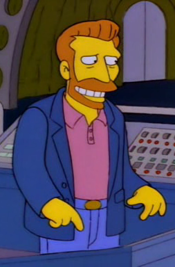 Hank Scorpio - he loves German beer and global dominion.