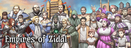 empires of zidal spread