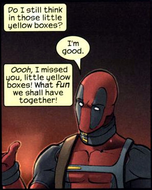 deadpool fourth wall