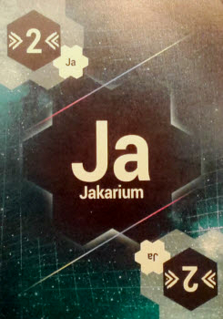 The Fuel card of the mysterious Jakarium will pull all ships 2 spaces towards you.