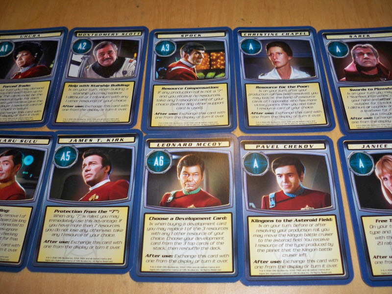 star trek catan support cards