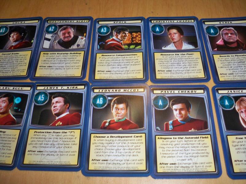 star trek catan support cards