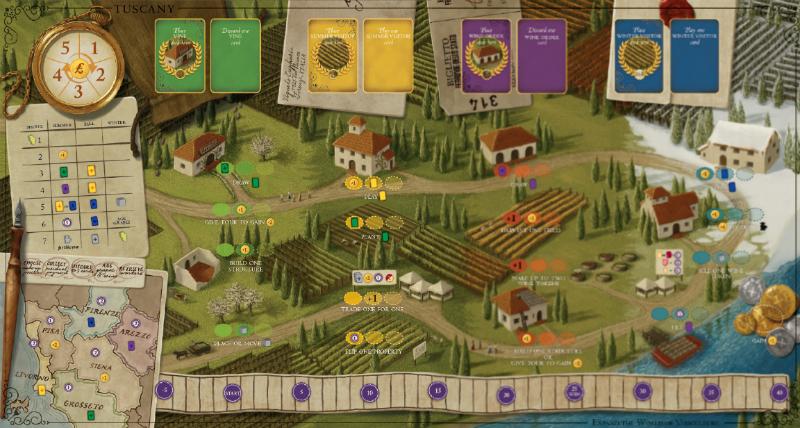 Tuscany expanded board