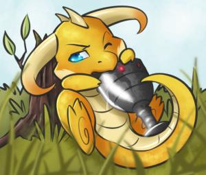 Sickeningly Cute Dragon