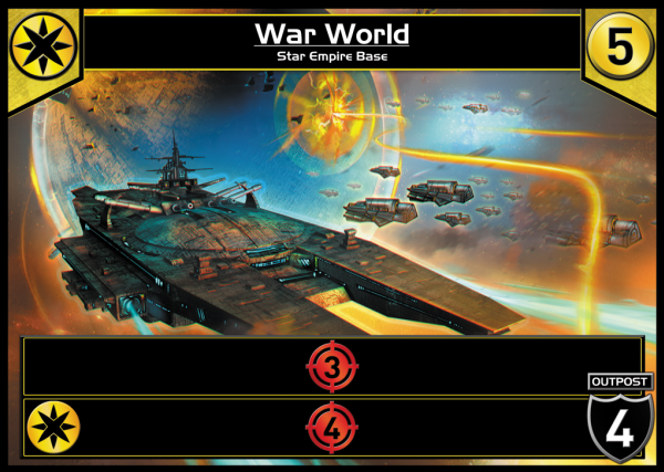 With another Star Empire card, War World becomes even more, well, warlike.