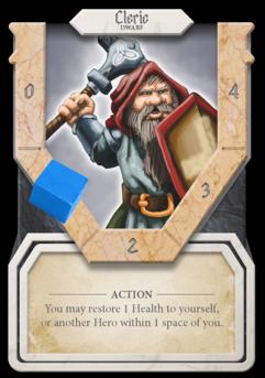 The Cleric Hero Prototype Shown