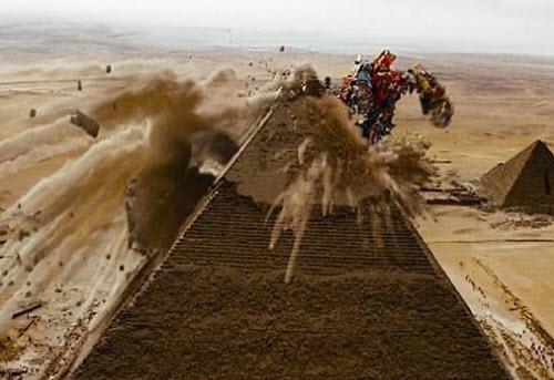 Destroying pyramids seems like a bad idea.