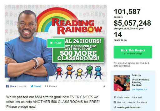reading-rainbow-kickstarter-5-million