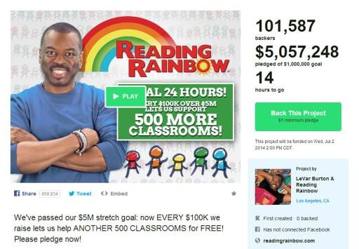 reading-rainbow-kickstarter-5-million
