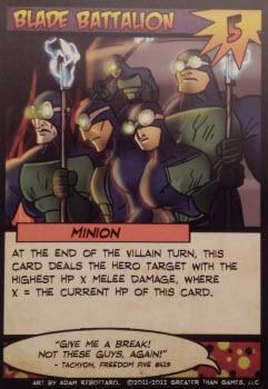 Hooray expendable minions!