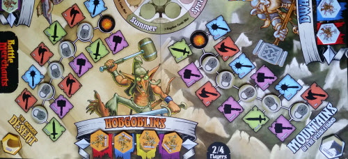Down Down to Hobgoblin Town... Aka the Hobgoblin board region.