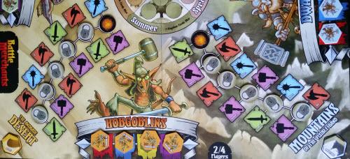 Down Down to Hobgoblin Town... Aka the Hobgoblin board region.