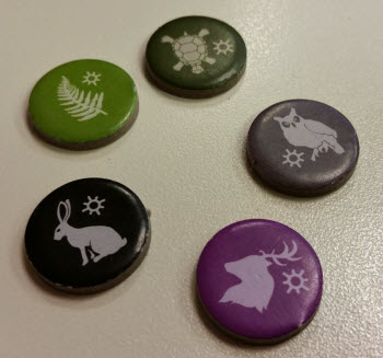 Druid markers, or Game of Thrones sigils?
