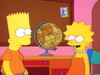 """In fact, in Rand McNally, people wear hats on their feet and hamburgers eat people!"""