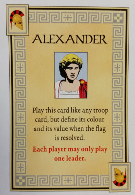 One of those handy dandy Tactics cards.