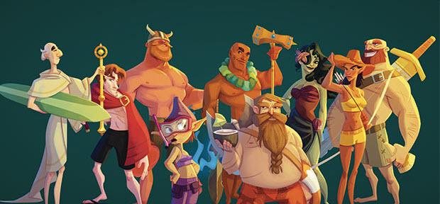 epic resort hero party