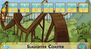 epic resort slaughter coaster
