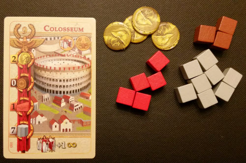 This player has more than enough resources to build a Colosseum.