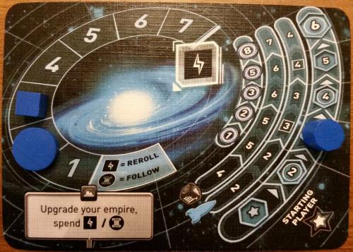 A player's slightly upgraded homeworld. Prototype Shown