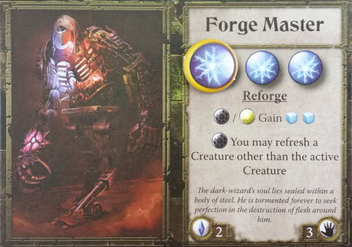 Meet the nefarious Forge Master