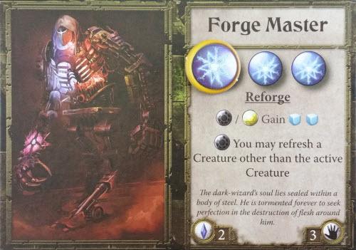 Meet the nefarious Forge Master