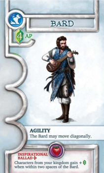 Arrow Fodder Exhibit A: A Basic-side Bard.  Prototype Shown