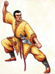 The Imperial Monk is ready. Bring it on. Prototype Art Shown
