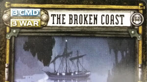 The Broken Coast Location can be used for 3 CMD or 3 WAR points.