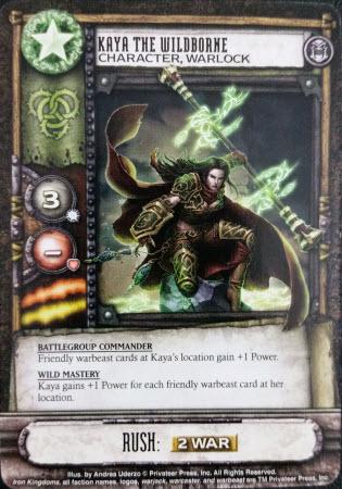 The warlock Kaya. Her detachments are Orange and Yellow.