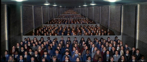 Mindless conformity is pretty terrifying.