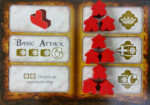 Red player's Imperial Card