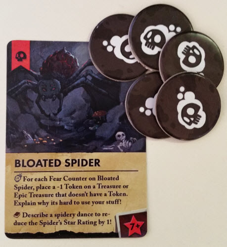The Spider Boss, complete with lots of Fear. Prototype Shown