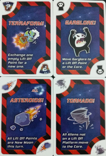 Possible Lift Off Action Cards