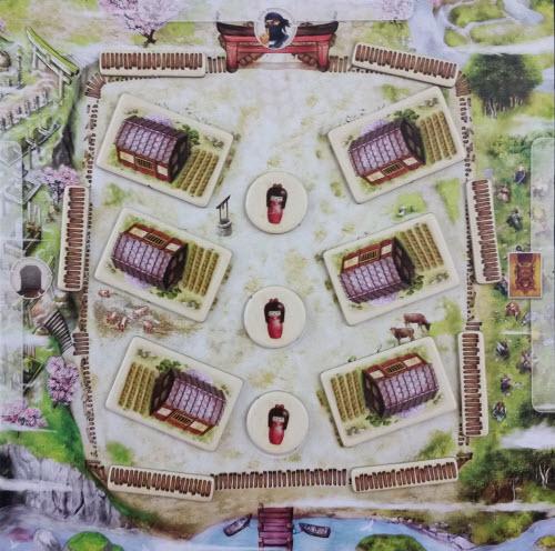 A starting 5-player village