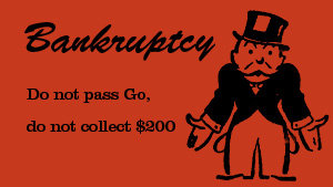 Bankruptcy Monopoly