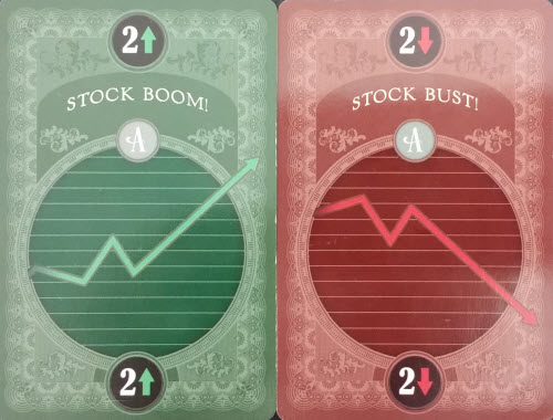 The ups and downs of economic games