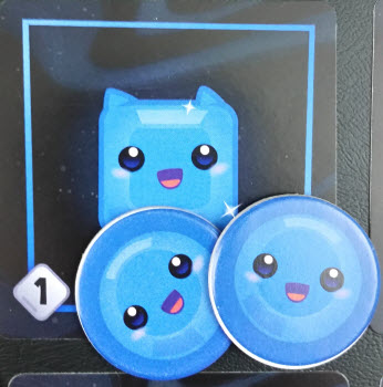 Two Blue Pips buys this Blue Square Prototype Shown