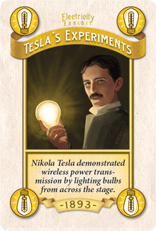 We went heavy into Supporters for Electricity to ensure the fair has Tesla's Experiments. Because Tesla. Prototype Shown