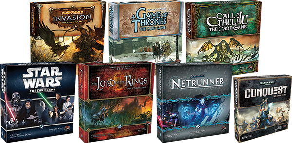 Fantasy Flight does have a good LCG track record...