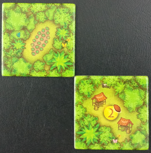 Starting Cacao tiles
