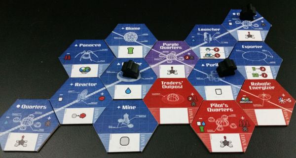 Purple's fully armed and operational battle, er, moon station Prototype Shown