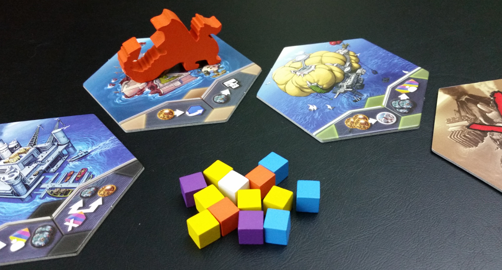 Orange just won the last RYŪ's Tear auction, and now the cubes return to the bag.