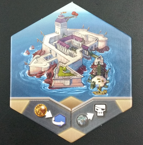 One of the four neutral guild tiles